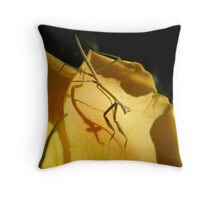 Mantid    Throw Pillow
