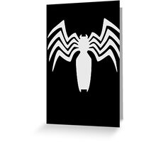 Venom crest Greeting Card