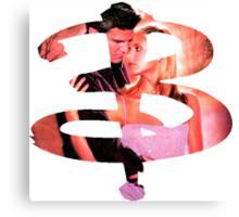 B - Buffy & Angel Canvas Print