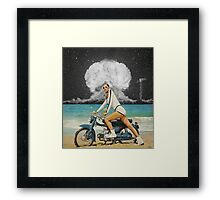 ICE COLD MO' FO' Framed Print