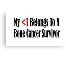 Bone Cancer Canvas Print