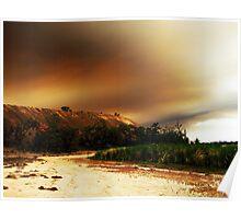Australian Country A Blaze Poster