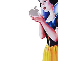Snow white iPhone by cosimacrazy