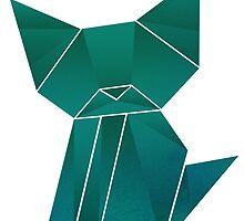 Origami Kitty  by nizkat