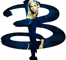 B - Buffy dark Blue by goofyjeremy