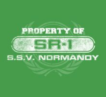 Naval Property of SR1 Kids Tee