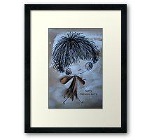 Mary Banksia Fairy Framed Print