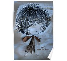 Mary Banksia Fairy Poster