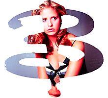 B - Buffy Season 1 Photographic Print