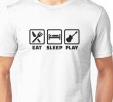 Eat Sleep Play Guitar Unisex T-Shirt