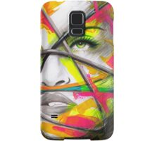 MADONNA REBEL HEART Original Ink & Acrylic Painting Samsung Galaxy Case/Skin