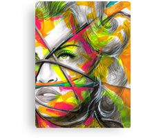 MADONNA REBEL HEART Original Ink & Acrylic Painting Canvas Print