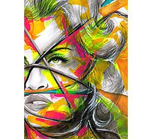 MADONNA REBEL HEART Original Ink & Acrylic Painting Photographic Print