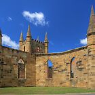 Church 1837 - Port Arthur, Tasmania by Darren Post