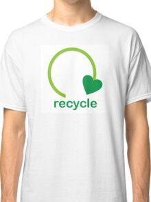 Recycle Sign Classic T-Shirt