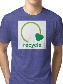 Recycle Sign Tri-blend T-Shirt