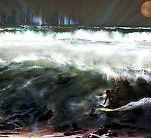 Midnight Wave by silveraya