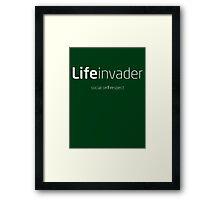 LifeInvader - GTA V Framed Print