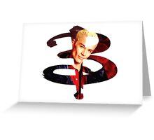 B - Spike Greeting Card