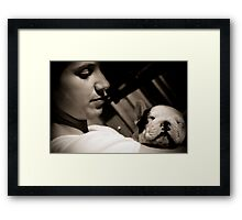 Kate & Lola Framed Print