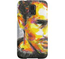 JAMES DEAN Original Ink & Acrylic Painting Samsung Galaxy Case/Skin