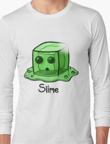 Slime Minecraft Long Sleeve T-Shirt