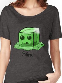 Slime Minecraft Women's Relaxed Fit T-Shirt