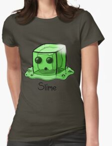Slime Minecraft Womens Fitted T-Shirt