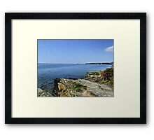 Portmeirion Beach HDR Framed Print