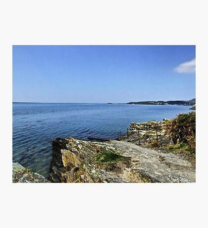Portmeirion Beach HDR Photographic Print