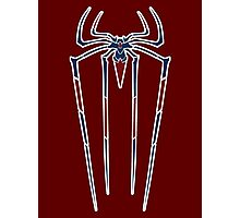 The Amazing Spider-man variant crest. Photographic Print