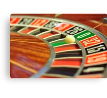 roulette wheel Canvas Print
