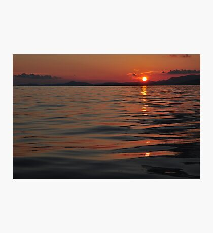 Sunset Adriatic Photographic Print