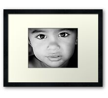 Kieran Framed Print
