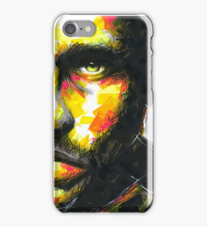 HALF Original Ink & Acrylic Painting iPhone Case/Skin