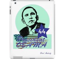 44 OBAMA FLAG DESIGN iPad Case/Skin
