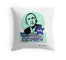 44 OBAMA FLAG DESIGN Throw Pillow