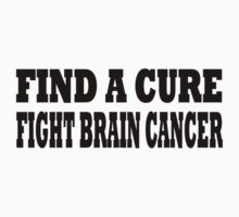 Brain Cancer Baby Tee