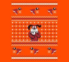 Festive Duck Hunt Sweater Kids Clothes