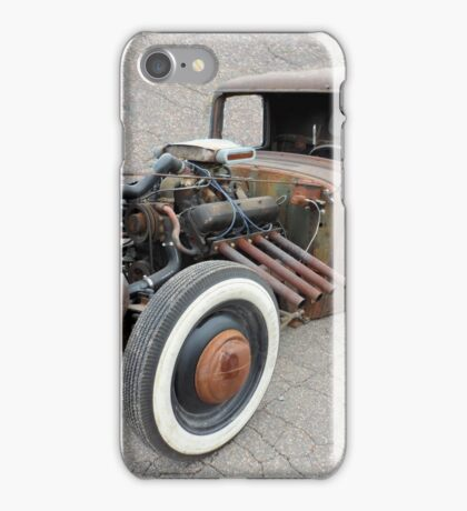 Old Awesome Rusty Car iPhone Case/Skin