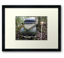 Green Cap Framed Print