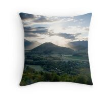 Lord of the Sunsets Throw Pillow