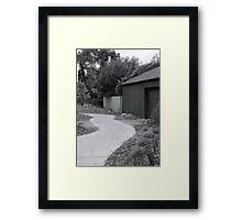 Historic Pathway Framed Print