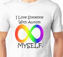 I love myself (autism design) Unisex T-Shirt