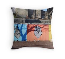 Peace, Love, and Baltimore Throw Pillow