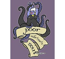 Poor Unfortunate Souls Photographic Print