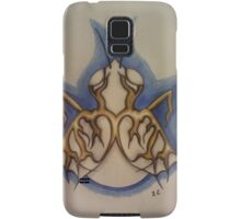 Albino fly with gold wings Samsung Galaxy Case/Skin