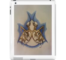 Albino fly with gold wings iPad Case/Skin