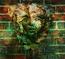 Rusty Face fountain by Art Dream Studio