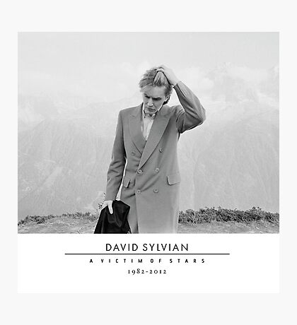 David Sylvian A Victim of Stars Photographic Print
